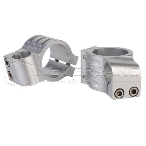 "7//8/"" 33//35//37//41//43//50mm CNC Motorcycle Fork Tube Clip on Handlebar Riser Heads"