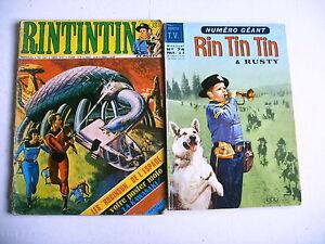 BD-RINTINTIN-lot-2-mensuels-n-74-et-38-1966-et-1973
