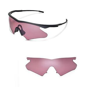 96f724665b2 Details about New Walleva Pink Replacement Lenses For Oakley M Frame Heater  Sunglasses
