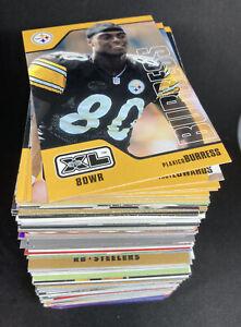 250x *RANDOM* Pittsburgh Steelers Cards 80s & 90s Base NFL Bundle Lot