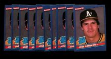 1986 DONRUSS #39 JOSE CANSECO RC LOT OF 10 NMMT *INV5839