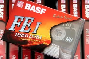 Details about BASF FE I 90 NORMAL POSITION TYPE I BLANK AUDIO CASSETTE -  GERMANY