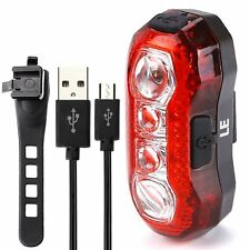 Rear Bicycle Bike Tail Light High Intensity LED Cycling Outdoor Cycling -Safety