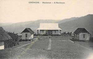 CPA-New-Guinea-Papua-Onoche-Residence-With-Edit-Missionaries