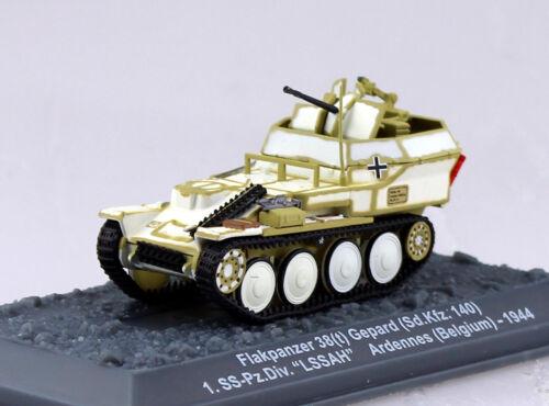 Panzer Flakpanzer 38t Gepard Wehrmacht 1944 Fertigmodell 1:72 Altaya Modell
