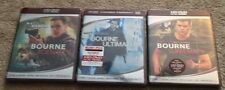 The Bourne Trilogy (HD DVD, 2007, HD DVD/Hybrid)