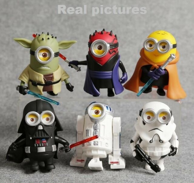 Disney Star Wars R2D2 Yoda Darth Vader C3PO Stormtrooper BB-8 keychain MINT bag