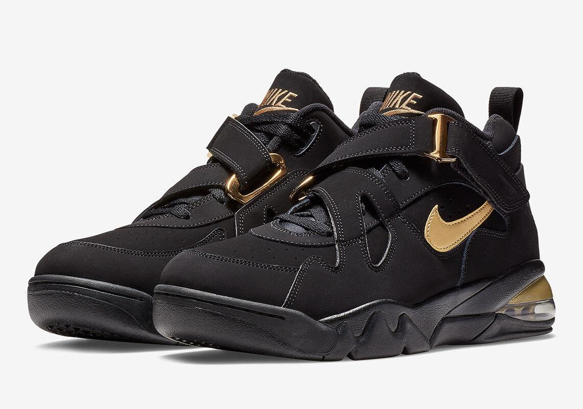 Nike Air Force Max CB   AJ7922 001 Metallic gold Barkley Men SZ 7.5 - 13