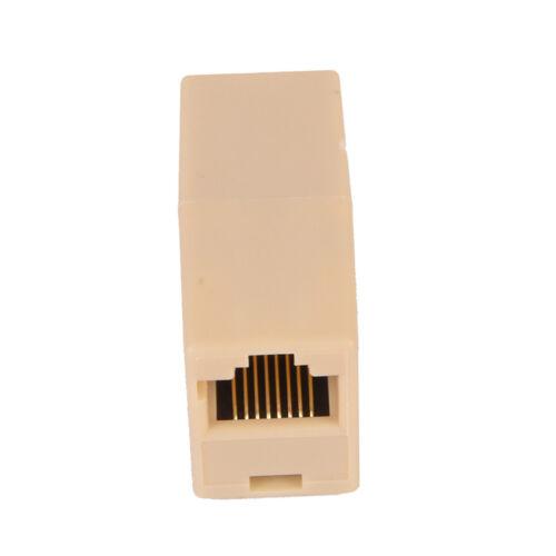 RJ45 LAN Ethernet Network Cable Coupler Female Joiner Cat 5e Cat 6  Fq