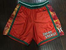 RARE�� Asics Japan Energy Made In Japan Basketball Athletic Shorts NBA League LE