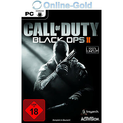 Call of Duty Black Ops II Key - CoD 9 BO 2 Steam Download Code [PC][EU][UNCUT]