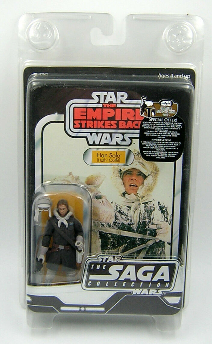 Star Wars Original Trilogy OTC Vintage Collection VC Han Solo Hoth Outfit
