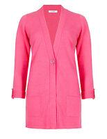 B.New Ex M&S Beautiful Pink Classic Cardigan Sizes 10-12-14-16-18-20-22-24