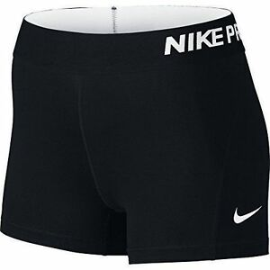Nike Pro Dri Fit Womens Black Training 3 Inch Shorts M Medium for ... 1d22bc42a2