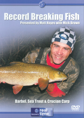 1 of 1 - Record Breaking Fish with Matt Hayes - Episodes 10-12 DVD