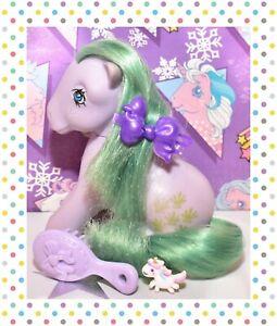 ❤️My Little Pony MLP G1 Vtg 1983 Italy Italian Seashell Sitting Pose NIRVANA❤️