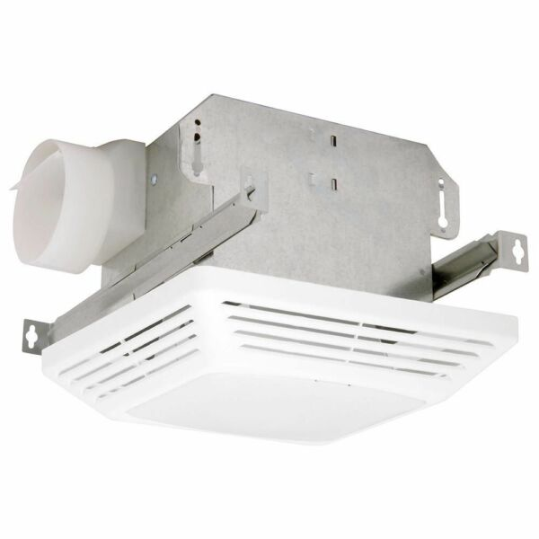 Bathroom 70 Cfm Exhaust Fan With Heat Lamp And Light: Air King Ceiling Exhaust Fan Light Advantage 70 CFM