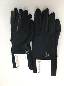Women's Orange Theory 2-Pack High Tech Gloves-Size L/XL-Black