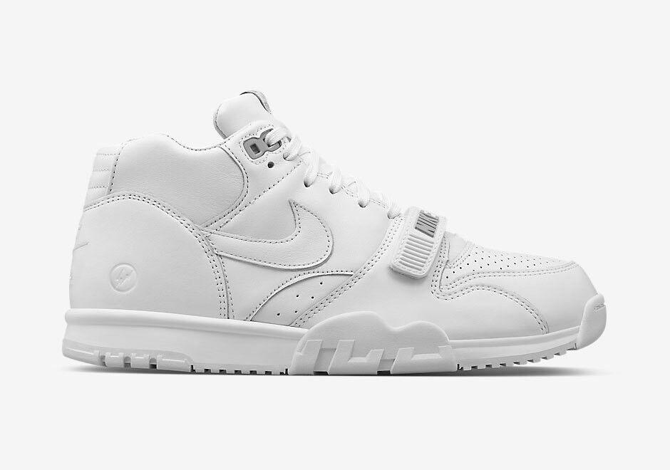 Nike X Fragment Air Trainer 1 White Size 11.5 Tier Zero Lab