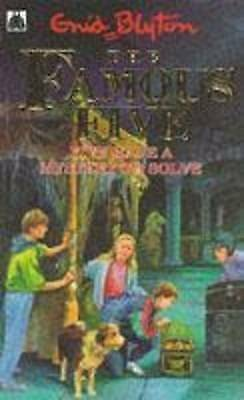 """""""AS NEW"""" Blyton, Enid, Five Have A Mystery To Solve: Book 20 (Famous Five) Book"""