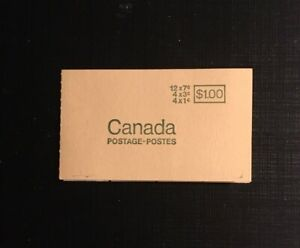 Stamps-Canada-BK67-Booklet-se-tenant-pane-of-20-see-description-for-details