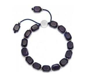 Lola-Rose-Ava-Mae-bracelet-Bangle-Blue-Goldstone-Silver-Plated