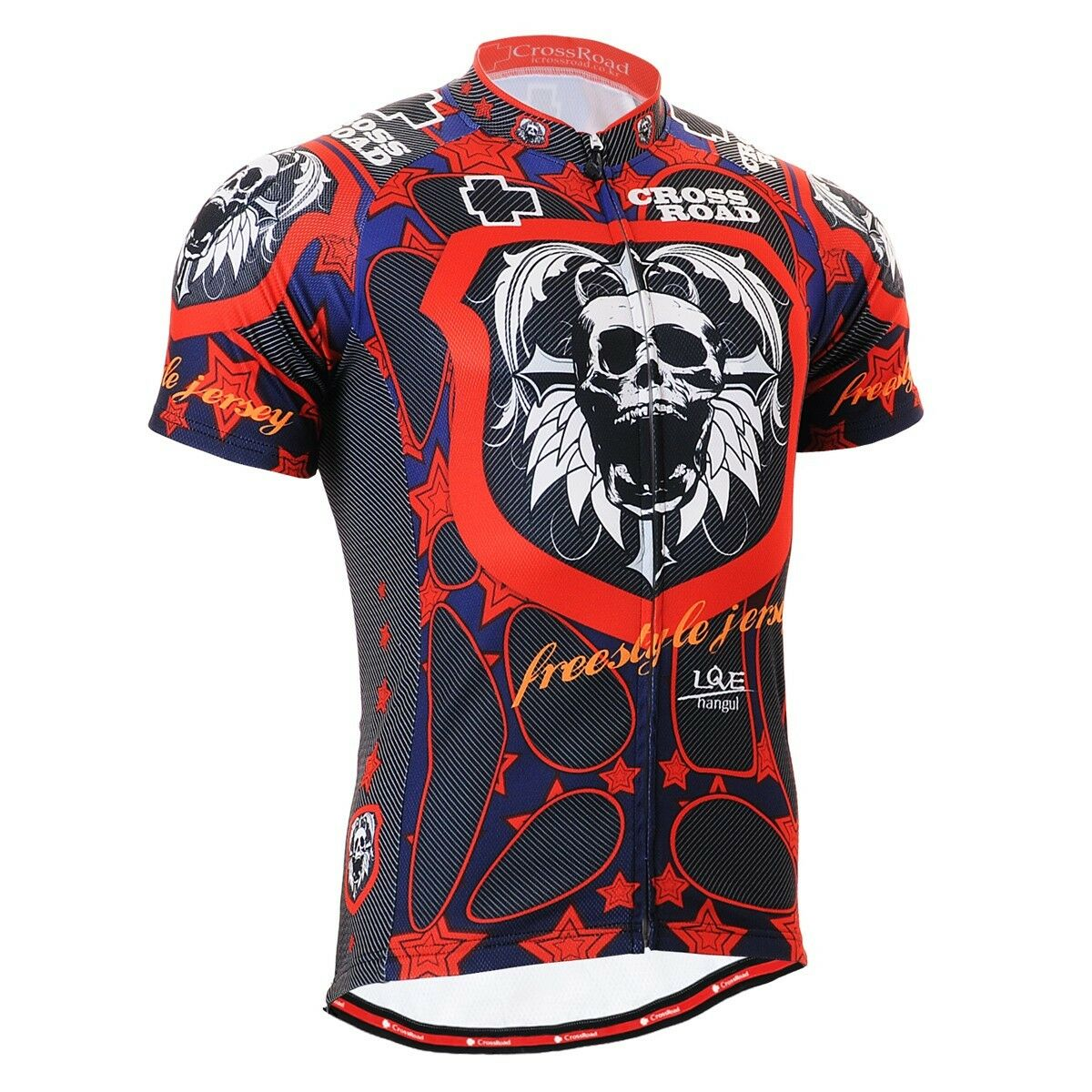 FIXGEAR CS-1102 Men's Short Sleeve Cycling Jersey Bicycle Apparel Roadbike MTB