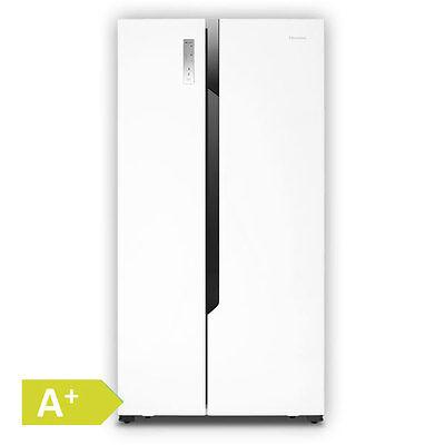 Hisense SBS 518 A+ WE  Side-by-Side Kühlschrank EEK A+ Kühl- Gefrierkombination