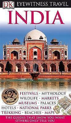 Kindersley Dorling B, DK Eyewitness Travel Guide: India, Very Good Book