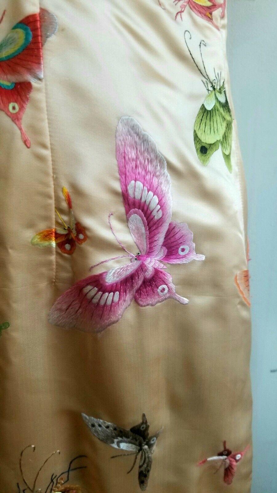 Handmade silk Qipao style dress - image 4