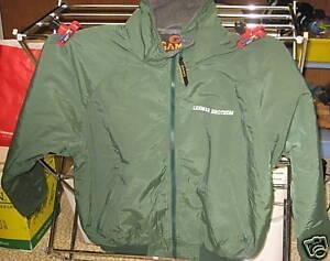 Lehman-GREEN-Jacket-Grey-Fleece-Lined-FREE-SHIPPING