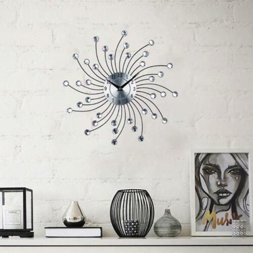 Crystal Wall Clock Celebration Decorative Metal Wall Clock HOT