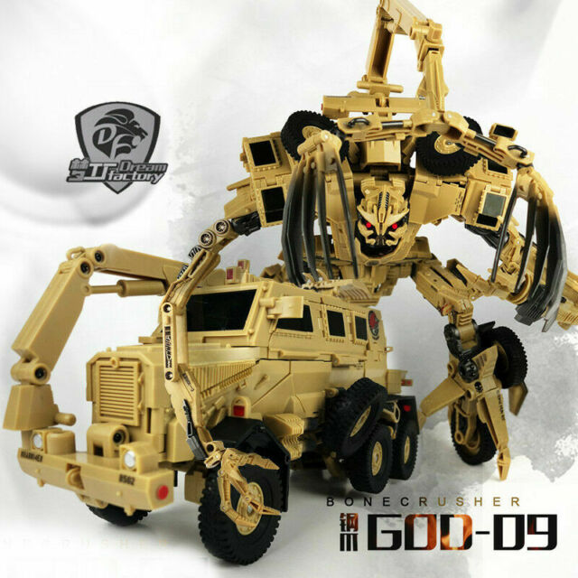 New Transformers Dream Factory GOD-09 Steel Claw Bonecrusher Figure In Stock