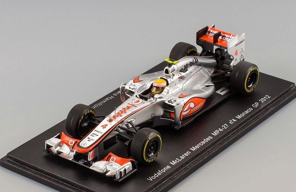 McLaren MP4-27 Monaco GP 2012 Lewis Hamilton Spark 1 43 S3045