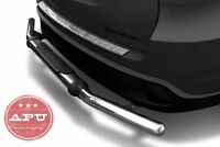 Fits 2013-2015 Pathfinder Rear Bumper Guard Stainless Steel Single Tube W/ Pad