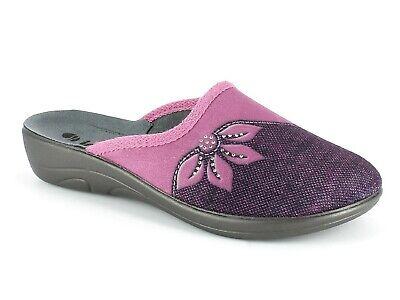 Pantofole Aperte sul Retro Donna INBLU Jula Azalea 5D-09 Punta chiusa Woman
