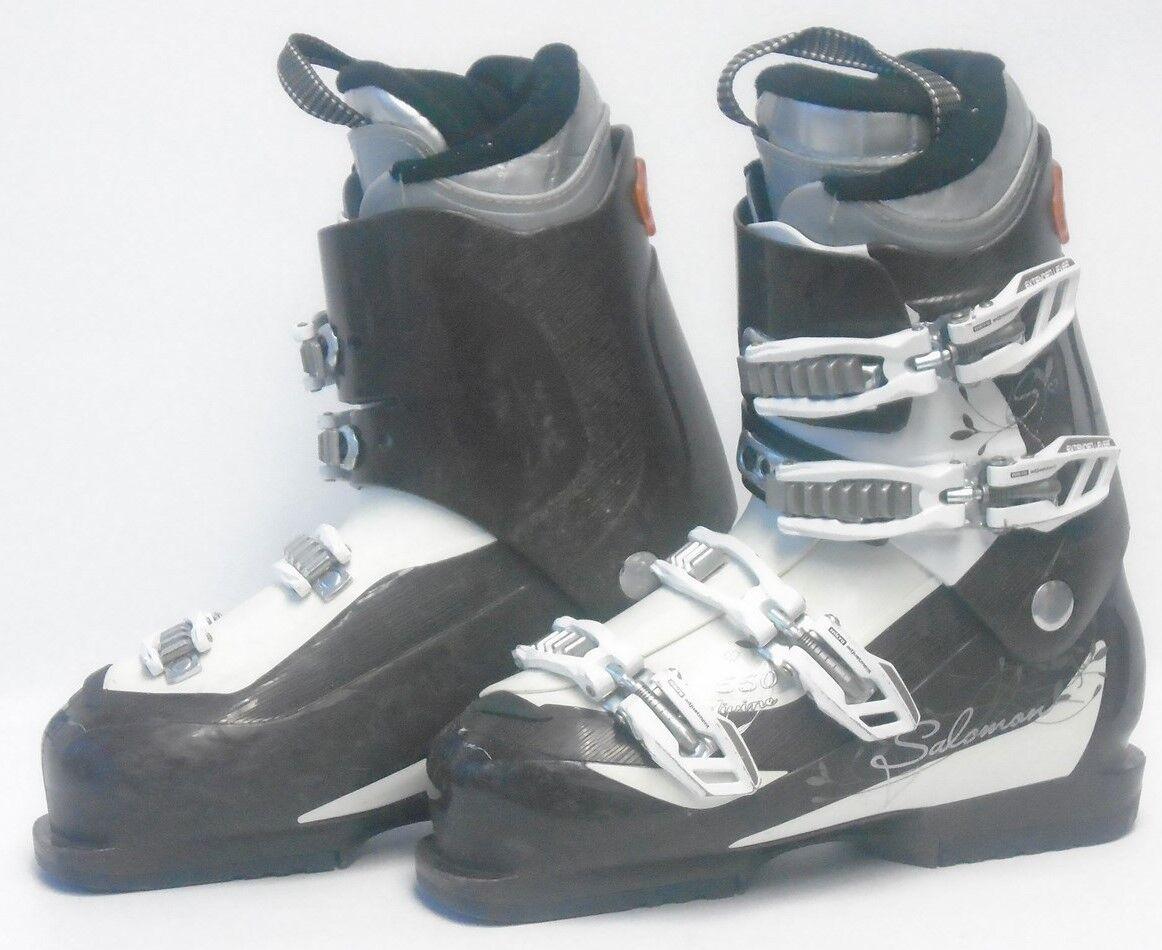 Salomon Divine Women's Ski Boots - Size 6.5   Mondo 23.5 Used