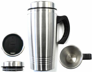 New-16OZ-Stainless-Steel-Coffee-Cup-with-Handle-Insulated-Thermos-Travel-Mug