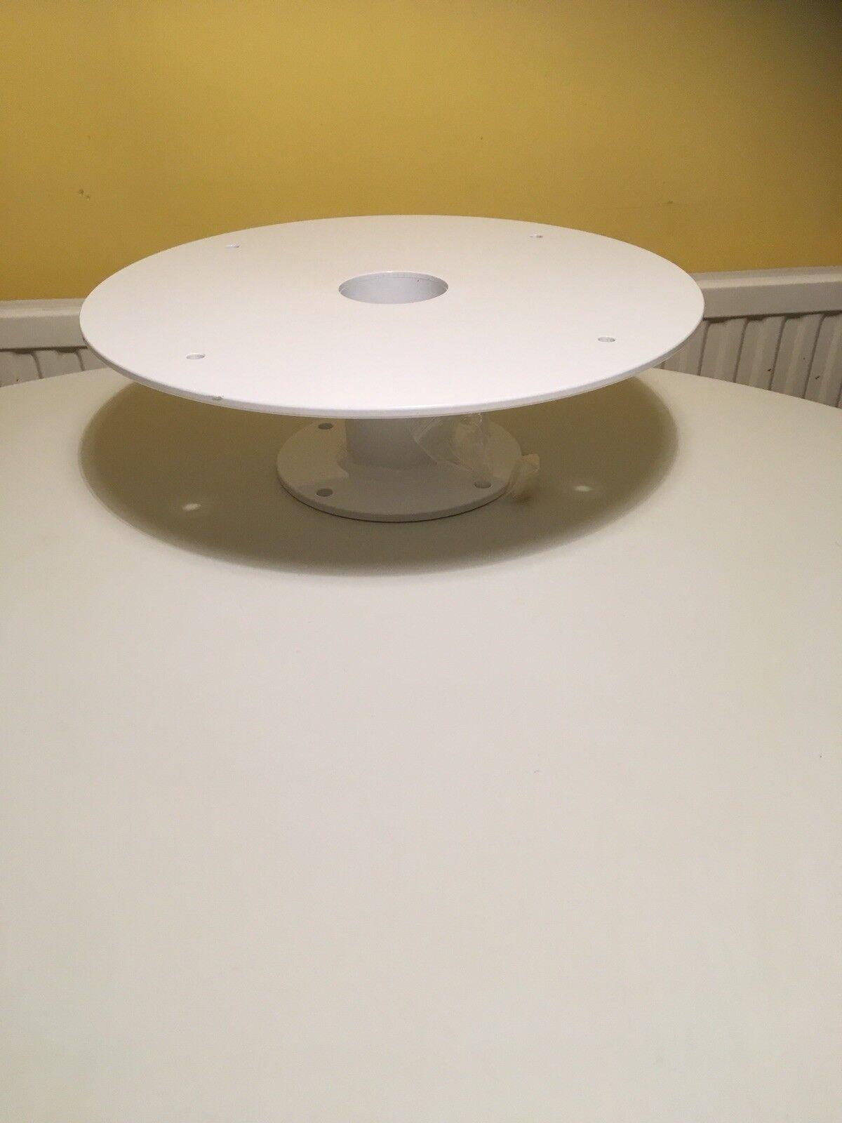Dome Radar mount tower 5  13cm, aluminium powder coated. Plate diameter 15  39cm