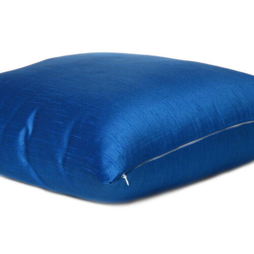 Cover Solid Color Sofa Pillow Case Cushion Square Home Decor Royal Blue 18x18