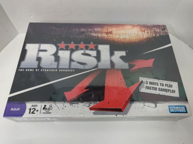 Risk Game of Strategic  Classic Board Game 2-5 Players Brand New
