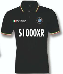 POLO-UOMO-BMW-S1000XR-mens-woman-unisex-S-M-L-XL-XXL-personalizzato