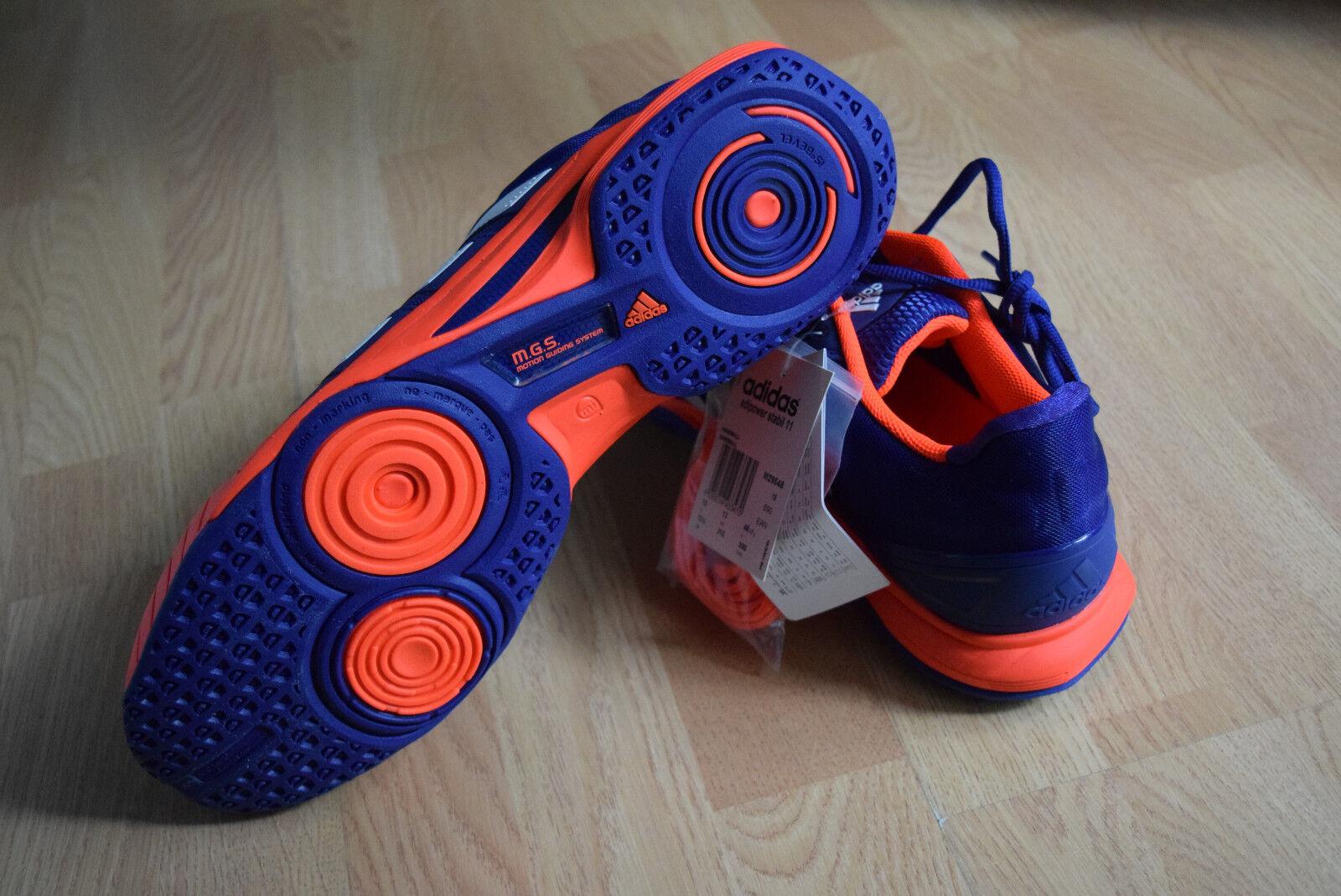 Adidas adipowwer Stabil 11 40 40 40 5 48 5 49 50 50 5 Handballschuhe Volleyball M29548 1512fb