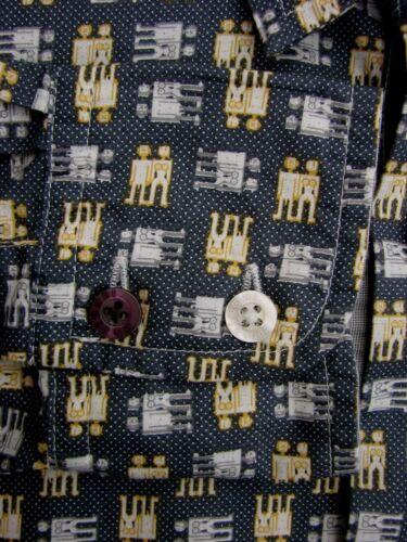 Mens Grey 15 Gold Eve New Silver Adam M amp; Desigual Shirt 5 1OAwHq5