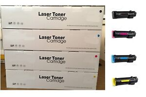 COMPATIBLE-LASER-TONER-PACK-OF-4-COLOUR-SET-XEROX-PHASER-6510-WORKCENTRE-6515