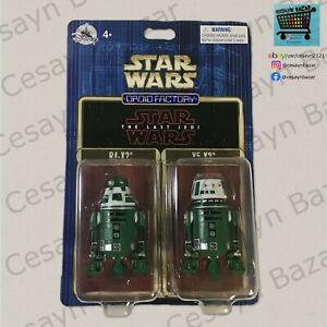 Star Wars Droid Factory Astromech R4-X2 Y5-X2 The Last Jedi Disney 2 Pack