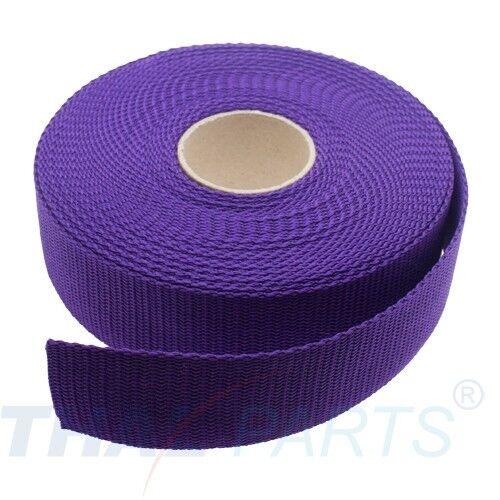 ca 1,6mm stark Lila PP Taschengurt Taschenband 10m Gurtband 40mm Breit