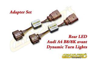 Audi-A4-Avant-Combi-2x-Dynamischer-LED-Blinker-Plug-amp-Play-Dynamic-LED-Plug-amp-play
