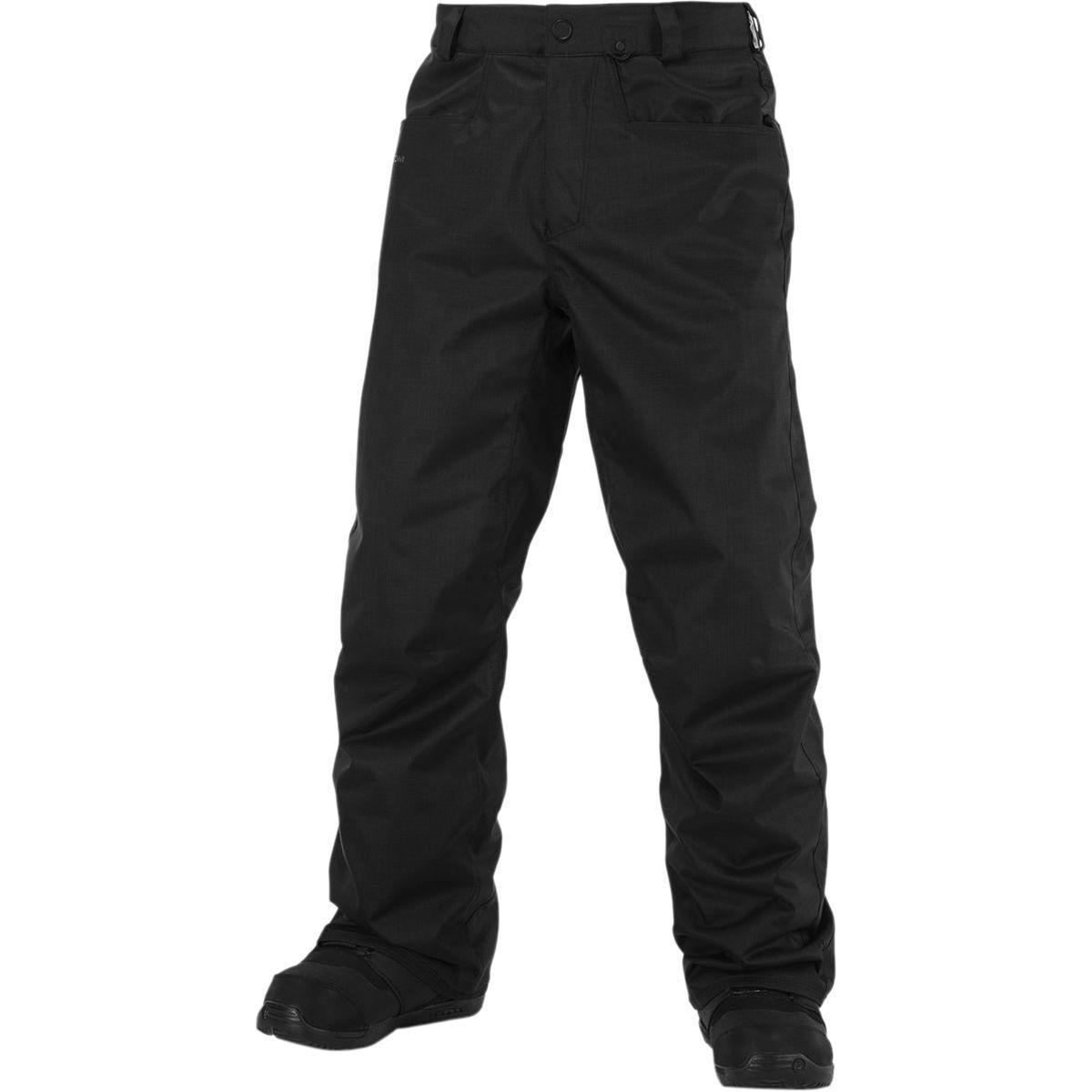 VOLCOM Men's CARBON Snow Pants - BLK - XL - NWT