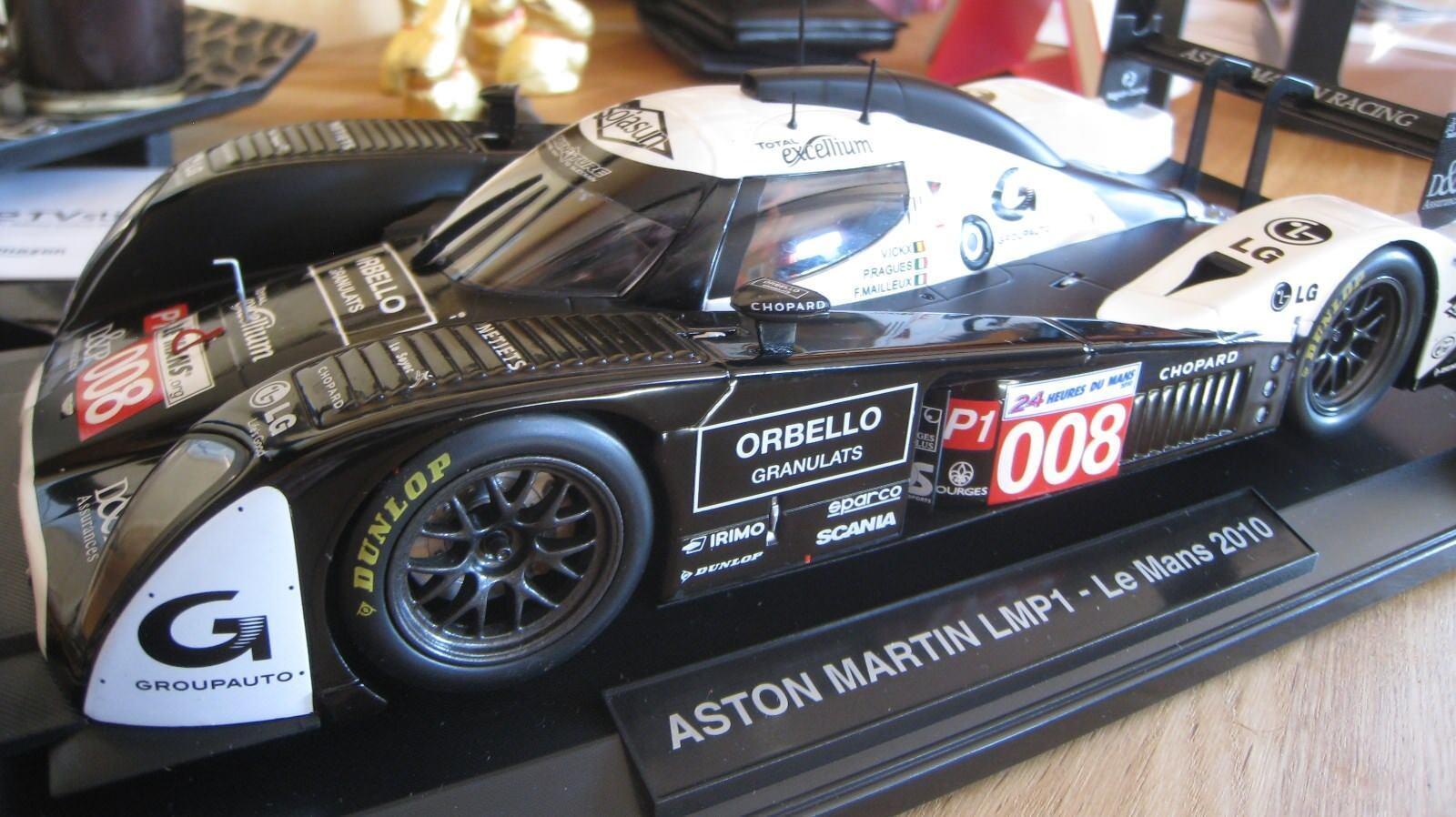 Aston Martin lmp1 le mans 2010 1 18 OVP nr 008